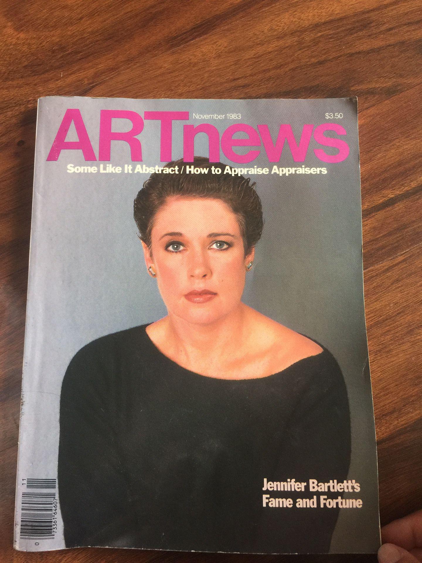 ART news November 1983 Magazine