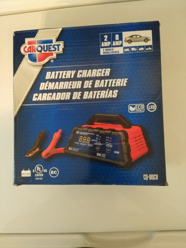 Car Quest Battery Charger 2amp 8amp For Sale In Waterbury Ct Offerup