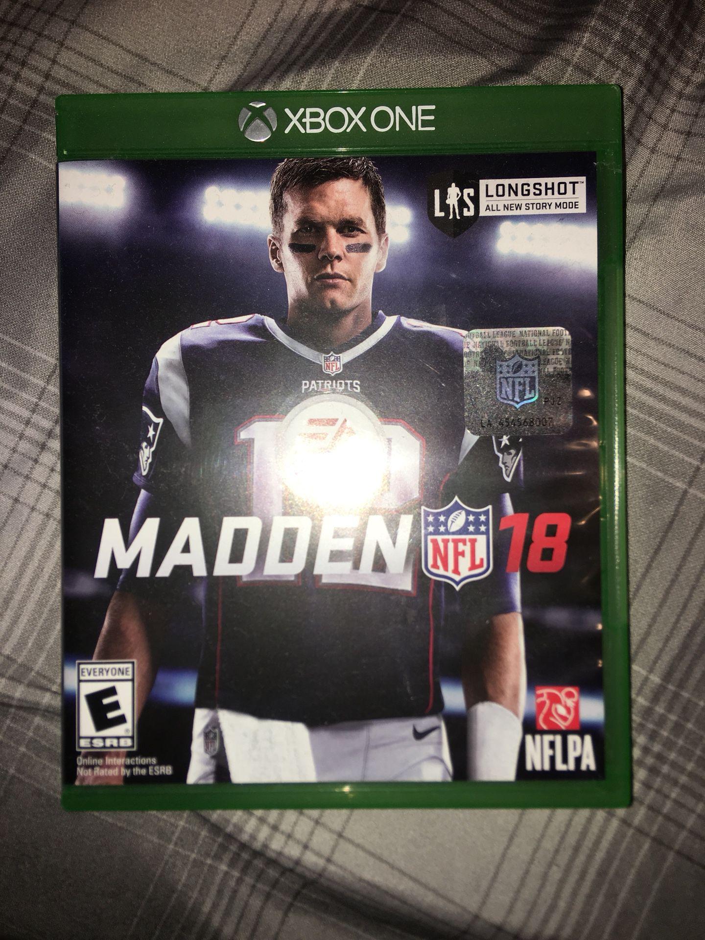 Xbox madden 18