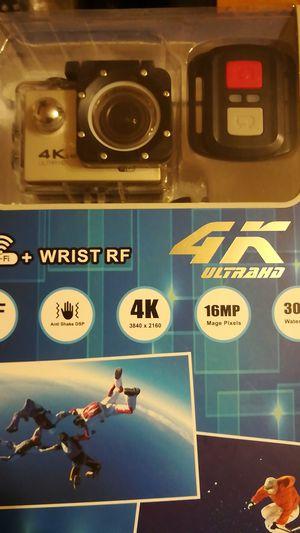 4k sports camera portable for Sale in Adelphi, MD
