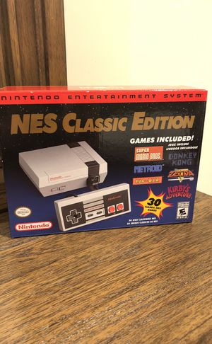 Nintendo NES Classic Edition Brand New for Sale in Boston, MA