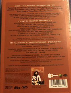 GEORGE HARRISON CONCERT FOR BANGLADESH LIMITED NUMBERED DVD BOX DELUXE SET NEW! SEALED! Thumbnail