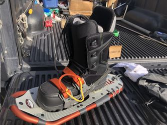 Snowboard Boots and Snowshoes Thumbnail