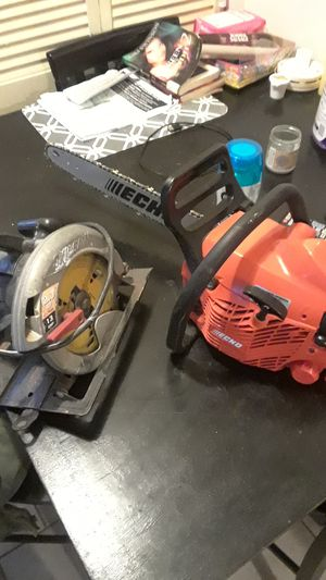 Echo chainsaw cs-352 / SkilSaw 2.3 hp 13amp for Sale in Washington, DC