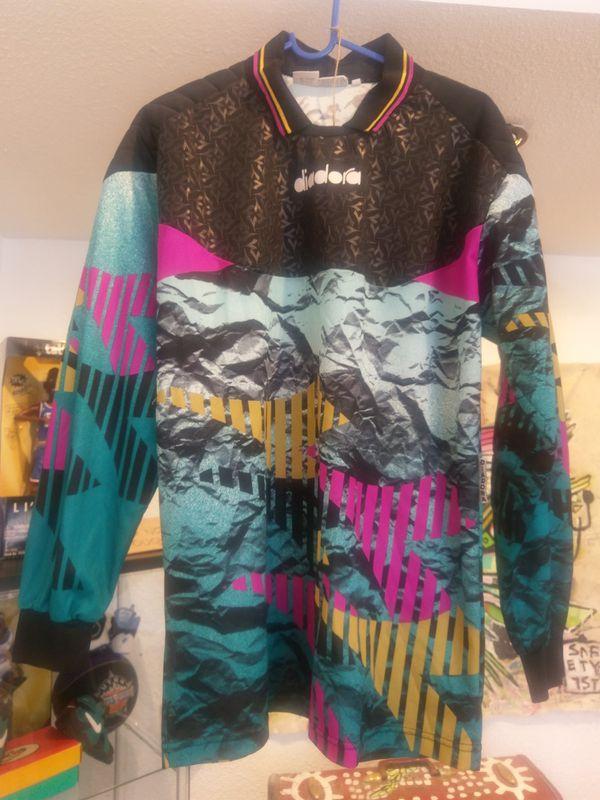 96b4169ca6b Vintage Diadora Goalie (soccer) jersey for Sale in Oakland