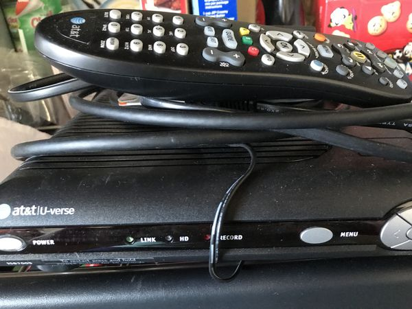 At&t U-verse box with remote for Sale in Upland, CA - OfferUp