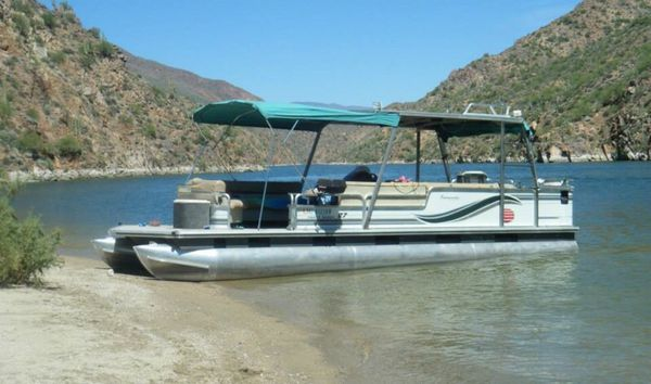 1997 Suntracker Party Barge Pontoon Boat for Sale in ...