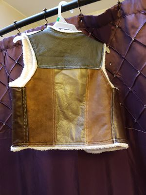 Leather vest for Sale in Phoenix, AZ