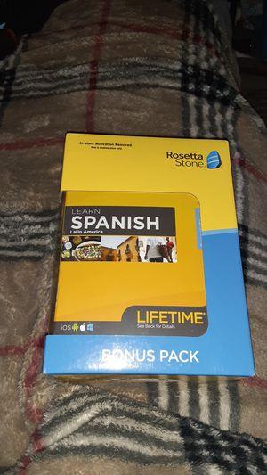 Photo ROSETTA STONE LEARN SPANISH BONUS PACK