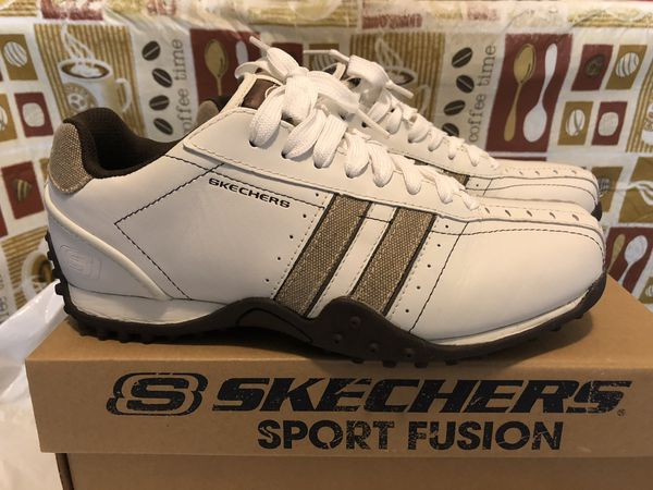 ee5debb75457 New SKECHERS MEN Forward White Taupe Shoes 7 M for Sale in Del Sur ...