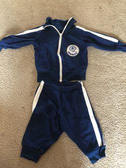 Baby Dallas Coyboys jump suit Thumbnail