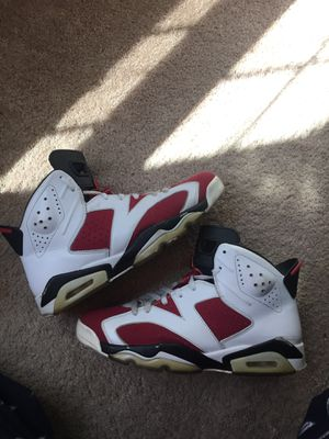 Jordan carmine 6s size 11 for Sale in Fairfax, VA