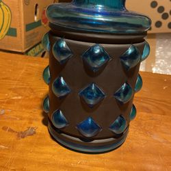 Mid Century Hand Blown Vase Thumbnail