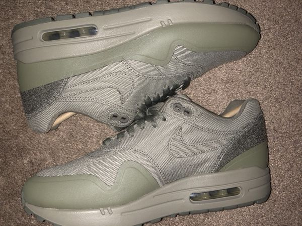 wholesale dealer 44ccb 086d4 Nike Air Max 1 V SP Patch Steel Green DS Size 6.5