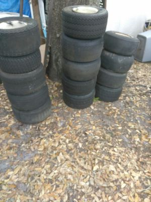 Golf cart tires and rims for Sale in Orlando, FL