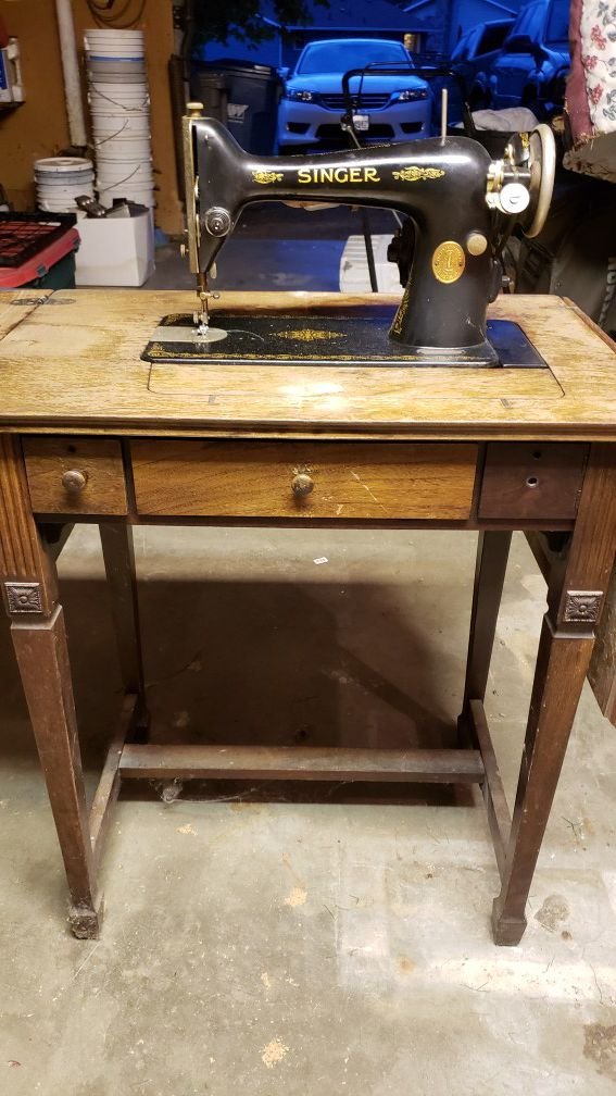Antique Singer Sewing Machine For Sale In Kent WA OfferUp Amazing Antique Singer Sewing Machines For Sale
