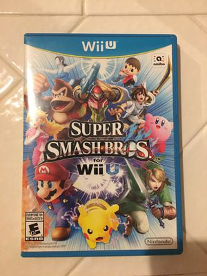 Super Smash Bros Nintendo Wii U for Sale in Brentwood, CA