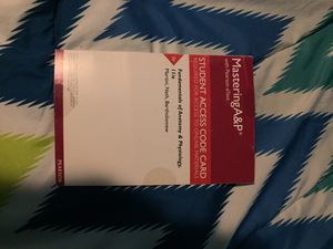 Pearson Mastering access code card for Sale in Portland, OR