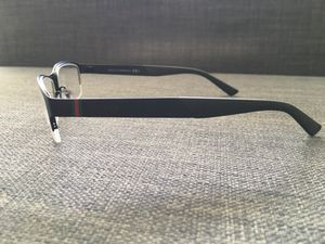 acdd4aa44a0 New - Gucci Optical Glasses GG2228 Stainless steel Mens Square Full Rim ( Black) for Sale in Miami Beach