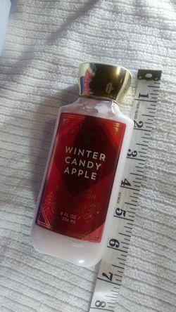 Winter candy apple body lotion 8oz. Bath&bodyworks body cream Thumbnail