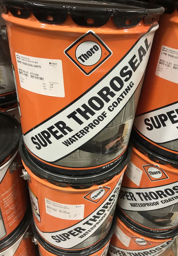 Thorp Super Thoroseal Waterproof Coating White For Sale In
