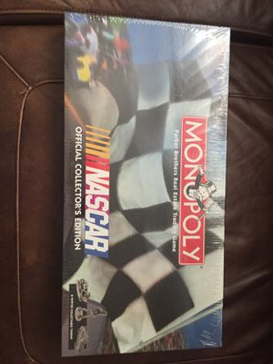 NEW Monopoly NASCAR Official Collector's Edition for Sale in Fort Washington, MD