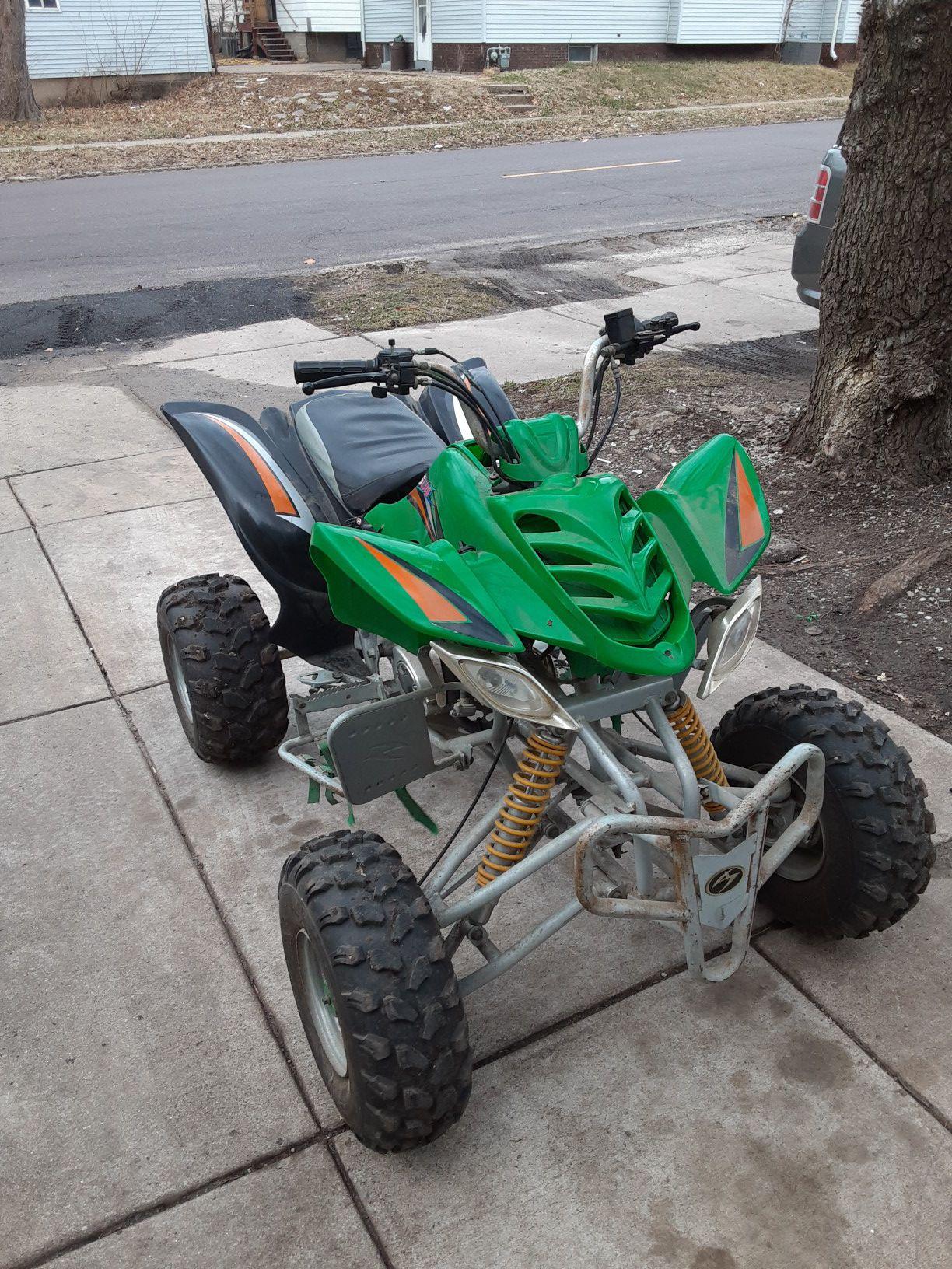 Photo 125cc atv 4 wheeler or quad