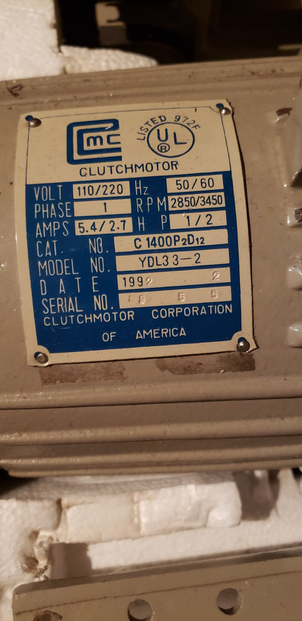 Pfaff commercial sewing machine and Clutch high RPM sewing machine motor