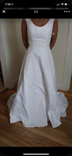 New And Used Wedding Dress For Sale In Portland Me Offerup