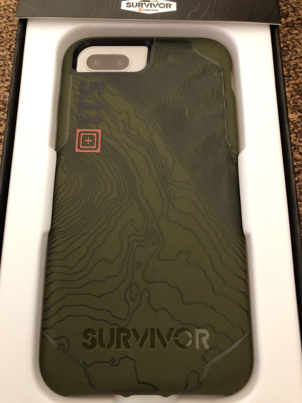 huge selection of bd4f7 32bd5 5.11 tactical survivor iPhone 8 Plus case for Sale in Roseville, CA -  OfferUp