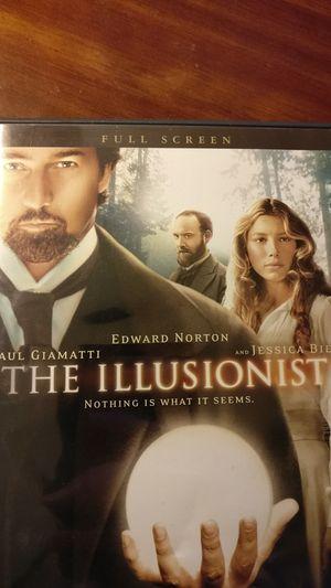 The Illusionist (DVD) Full Screen editon for Sale in Alexandria, VA