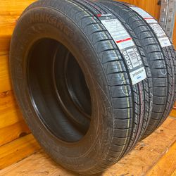 Brand New  Pair  2 Tires 205-65-16 Nanking Like New Stock 756-150 Thumbnail