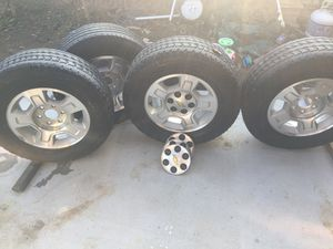 Rims and tires for Sale in Chowchilla, CA