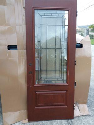 Beautiful Feather River fiberglass door for Sale in Orlando, FL