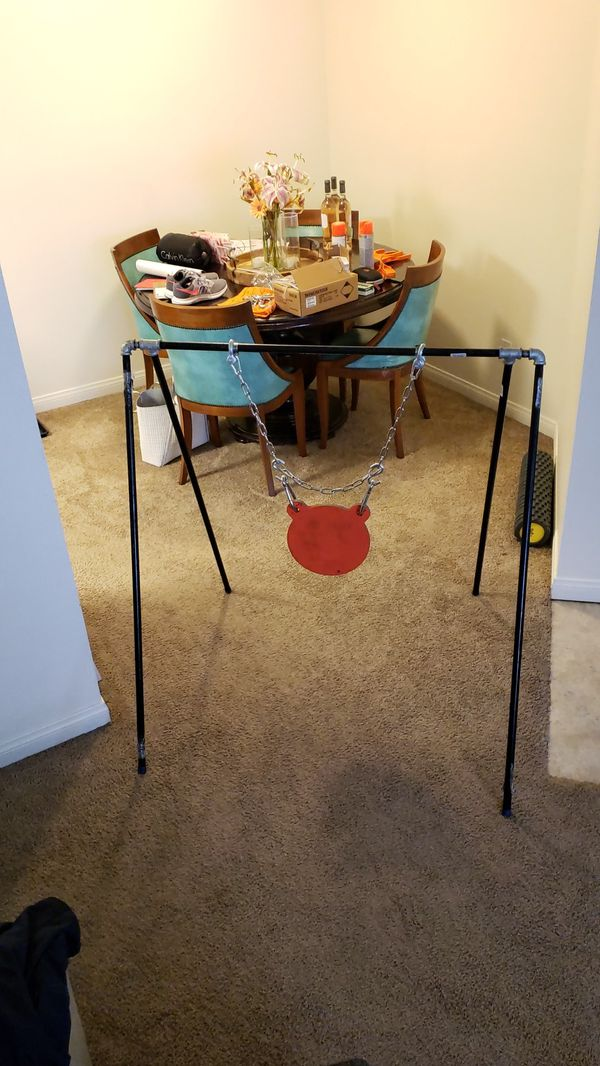 Steel target & stand $215