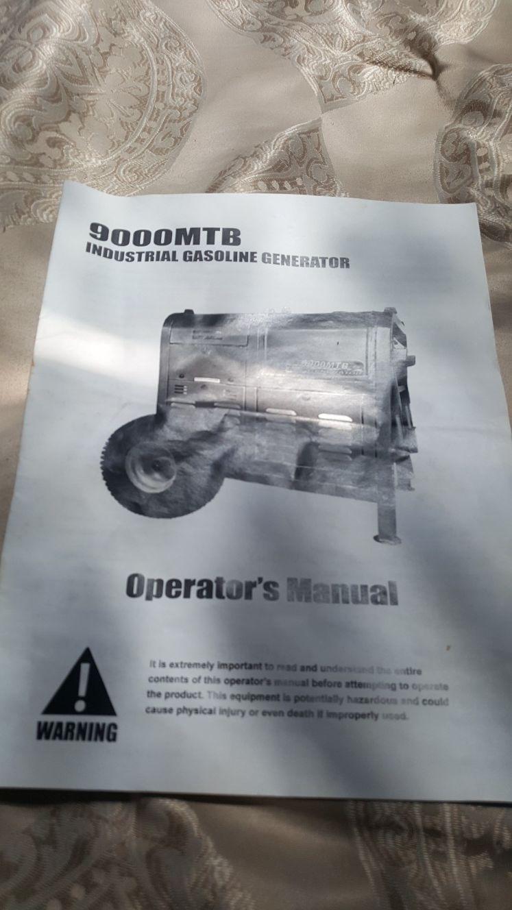 Ultra power generator,9000mtb.gasoline.