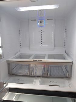 LG 4 Door Fridge Black Stainless Steel with water and ice dispenser ready to go with warranty. Custom chill drawer Thumbnail