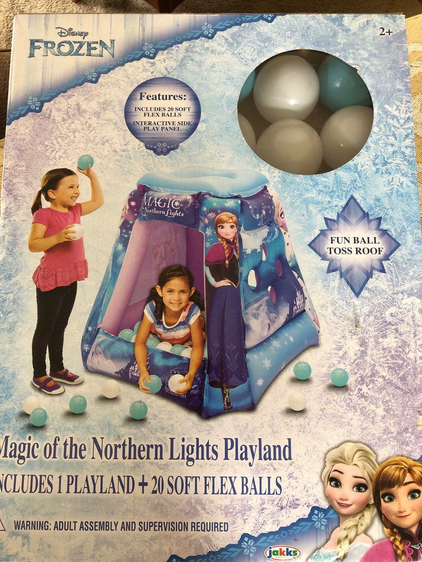 Frozen play land