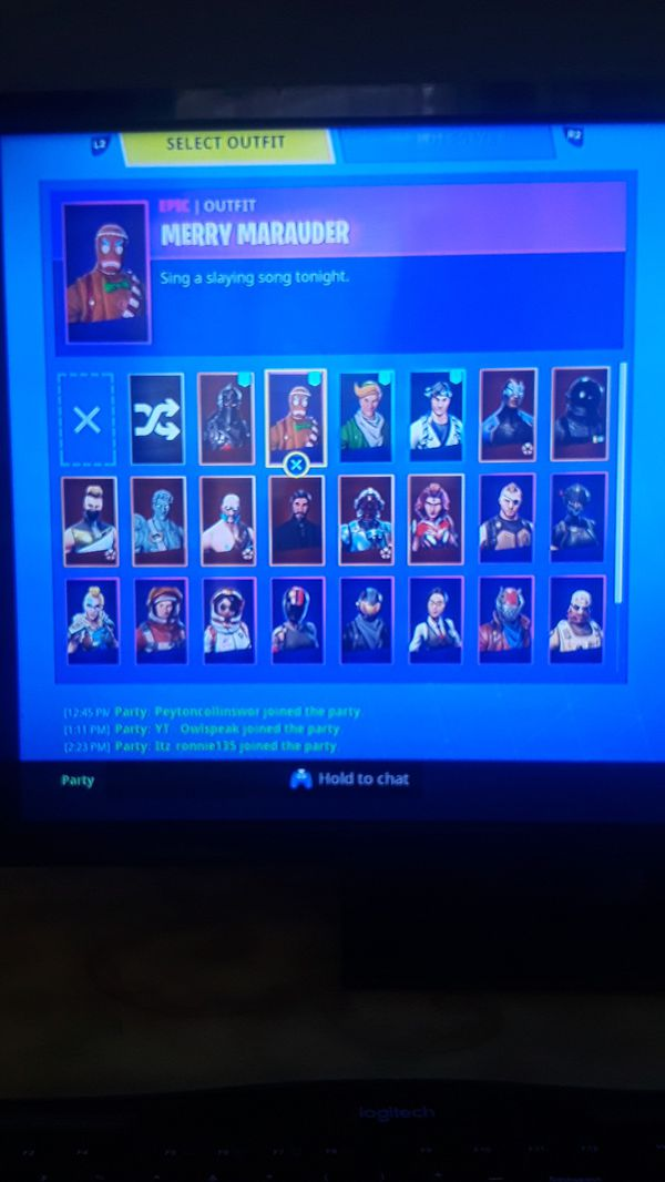 Fortnite account (ps4) for Sale in Chesapeake, VA - OfferUp