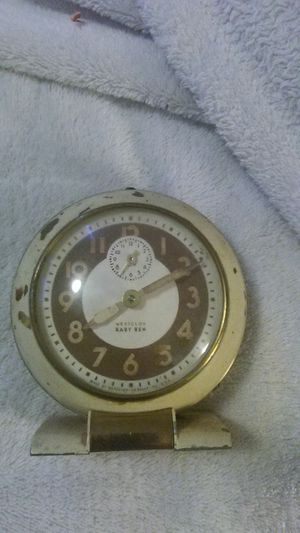 Antique, very old Westclox Baby Ben clock for Sale in Shingle Springs, CA