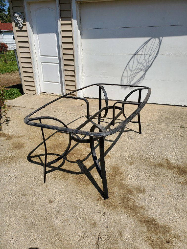 Frame Only For Rectangle Patio Table
