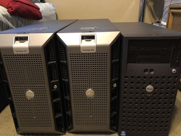 Dell PowerEdge 1900 (2) 1600SC Server Towers Computer PC Dual Xeon for Sale  in Hollywood, FL - OfferUp