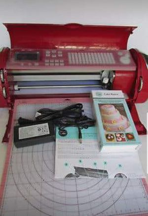 Cricut Cake Machine with mat and elegant cake art cartridge! for Sale in Ijamsville, MD