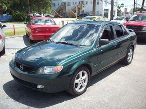 2002 Mazda Protege LX 108 k miles all power 4 cylinfree 34 miles per gallon for Sale in Falls Church, VA