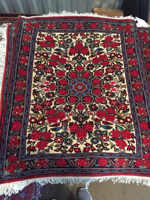 2x3FT Collectible Handmade Wool Rug for Sale in North Bethesda, MD