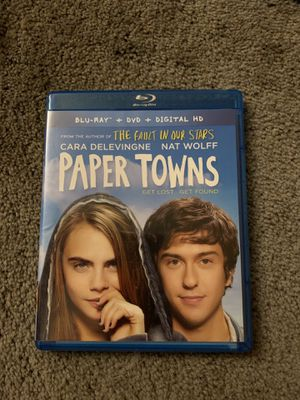 Paper towns blu-Ray for Sale in Elsmere, KY