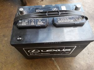 Lexus Battery for Sale in Vienna, VA