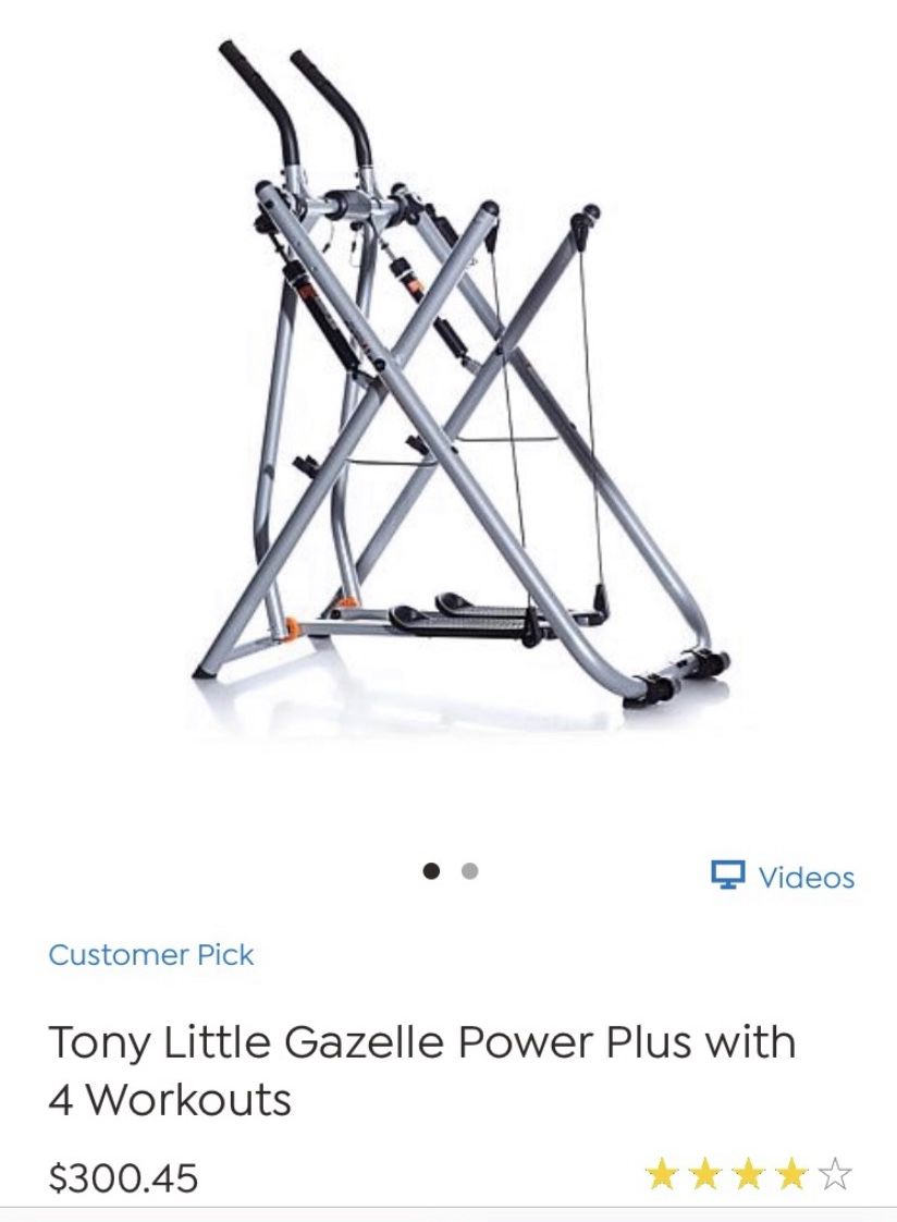 Gazelle power plus