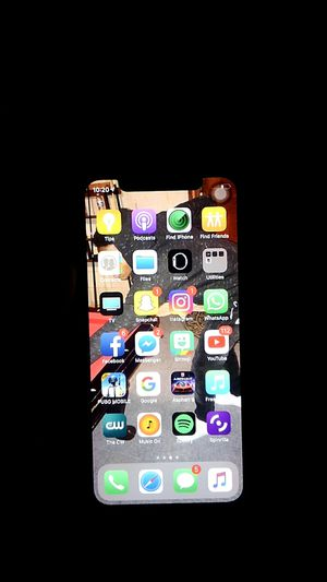 iPhone X 64gb unlocked uncracked for Sale in Laurel, MD
