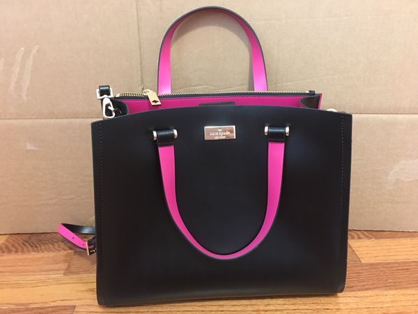e8df701c2bc2 Kate Spade Arbour Hill Kyra Handbag Black Leather Purse for Sale in ...